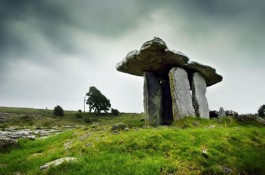 A Megalithic tomb in The Burren